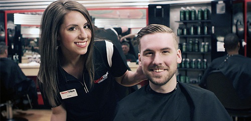 Sport Clips Haircuts of Raleigh - Falls Village​ stylist hair cut